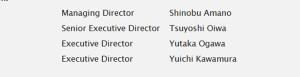 ADA - directors august 27 -2015