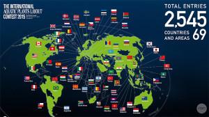 IAPLC 2015 map