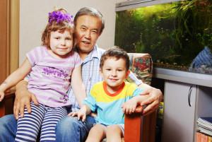 Adil Mynzhanov -grand children