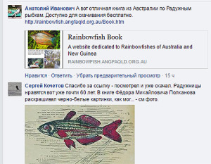 Rainbow fishes facebook 15