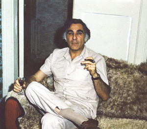 Axelrod at my home 1974