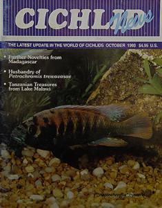 Cichlid news 1993