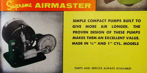 TFH 1958 fragment advert 3 pump re