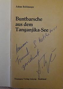 Achim Bruhlmeyer Tanganyika 1981 2017 1