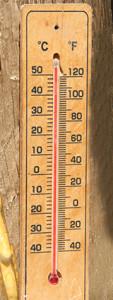 Temperature 2018 sept