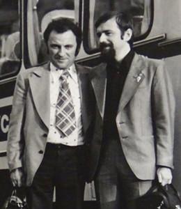 Achim und Sergei 1978 Krakow