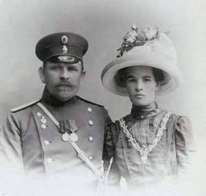 Бабушка и дедушка со стороны папы 1898 ed