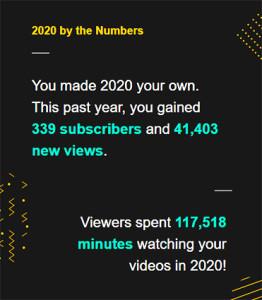 Youtube 2020 2